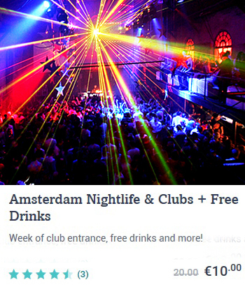 Online Tickets Amsterdam Nightlife