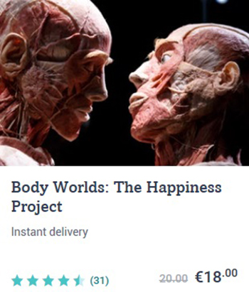 Body Worlds - The Happiness Project in Amsterdam
