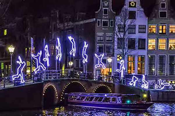 Amsterdam Light Festival - Water Colors