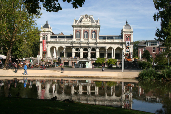 Nederlands Filmmuseum in the Vondelpark