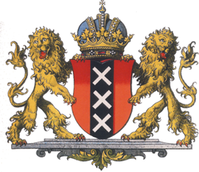 Amsterdam Coat Of Arms Xxx Amsterdam City Symbol