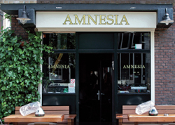 Coffeeshop Amnesia in Amsterdam in the Netherlands