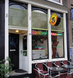 coffeeshop Bagheera in Amsterdam in the Netherlands