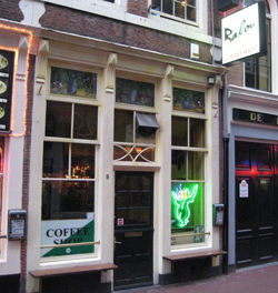 Coffeeshop Balou in Amsterdam, the Netherlands