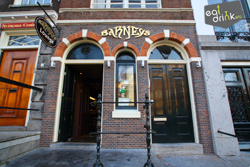 Coffeeshop Barney's Lounge in Amsterdam in the Netherlands