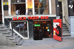 Coffeeshop The Black Tiger en Ámsterdam