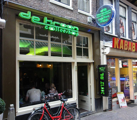 Coffeeshop de Kroon in Amsterdam