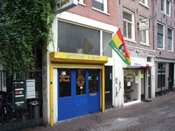 Coffeeshop El Guapo in Amsterdam in the Netherlands