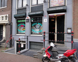 Coffeeshop Feels Good in Amsterdam Netherlands