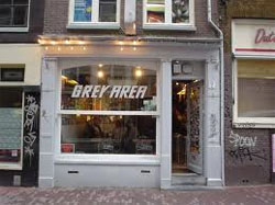 Coffeeshop Grey Area en Ámsterdam