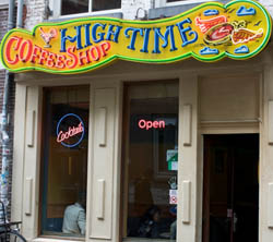 Coffeeshop High Time en Ámsterdam