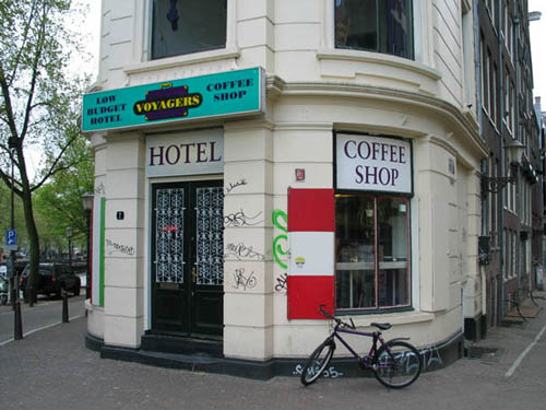 Coffeeshop Hotel Voyagers Amsterdam