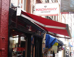 Coffeeshop Kadinsky (Front Page) in Amsterdam