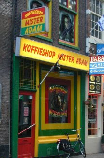 Coffeeshop Mister Adam in Amsterdam, the Netherlands