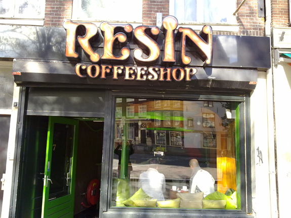Coffeeshop Resin in Amsterdam, the Netherlands