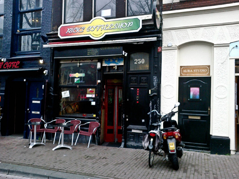 Coffeeshop Rick's Cafe Amsterdam