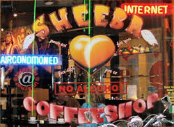 Coffeeshop Sheeba in Amsterdam