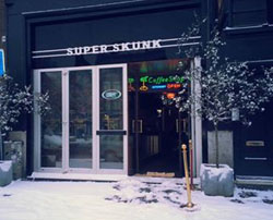 Coffeeshop Super Skunk in Amsterdam in the Netherlands