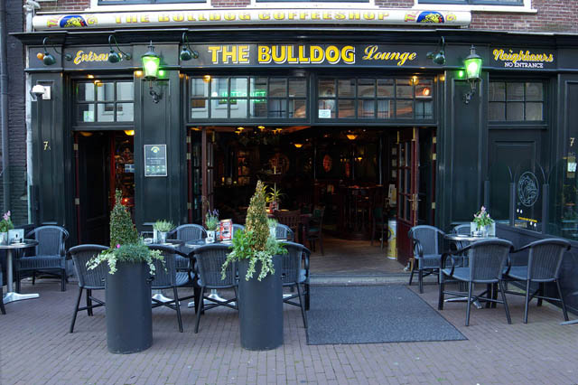 Bulldog Coffee House Amsterdam