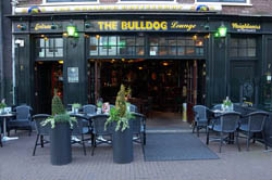 Coffeeshop The Bulldog Lounge en Ámsterdam