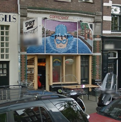 Coffeeshop The Spirit in Amsterdam