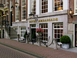Ambassade Hotel in Amsterdam in the Netherlands