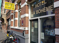 Hotel Laboheme in Amsterdam in the Netherlands