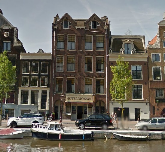 Mozart Hotel In Amsterdam Amsterdam Hotels Canal Ring