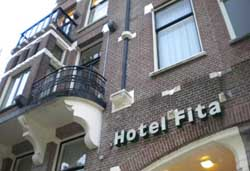 Hotel Fita in Amsterdam in the Netherlands