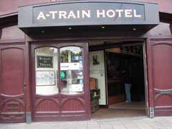 A-Train Hotel in Amsterdam in the Netherlands
