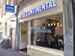 Hotel Continental in Amsterdam in the Netherlands