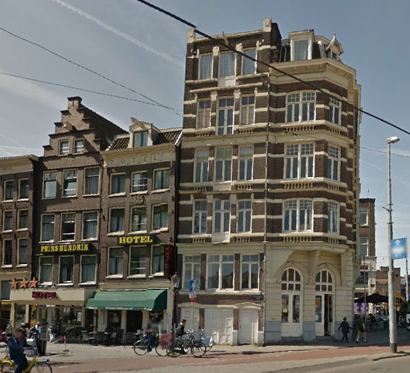 Hotel Prins Hendrik In Amsterdam The Netherlands