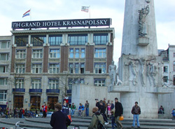 NH Grand Hotel Krasnapolsky in Amsterdam in the Netherlands