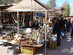 Waterlooplein Flea Market in Amsterdam