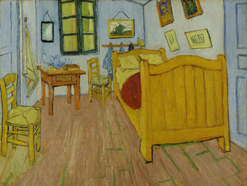 The Bedroom from Vincent van Gogh