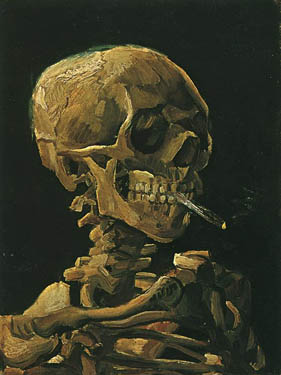 Skull of a Skeleton by Vincent van Gogh
