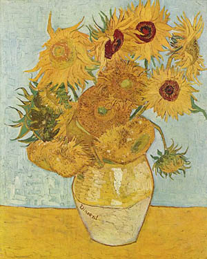 Sunflowere by Vincent van Gogh