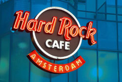 Hard Rock Cafe Amsterdam in the Netherlands