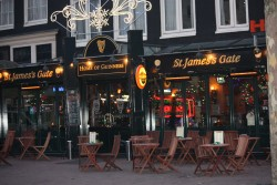 St James's Gate Irish-Pub in Amsterdam in the Netherlands