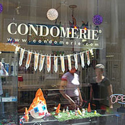 Condomerie in Amsterdam
