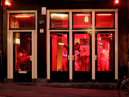 red light district how much
