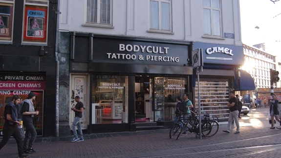 e1dc45693 Tattoo studio Body Cult Reguliersbreestraat. Amsterdam Tattoo and ...